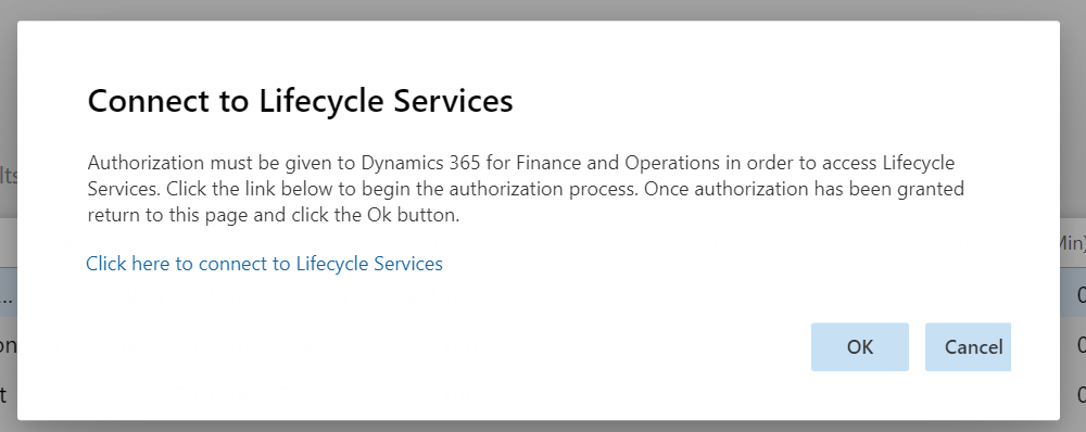 Dynamics 365 FO Data Management framework Data Tool Automation Connect to LCS