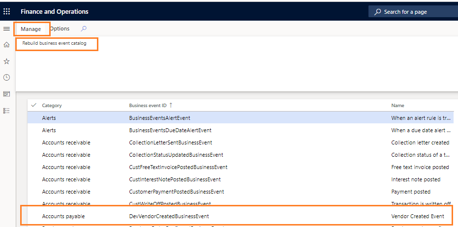 Dynamics 365 FO Integration Design Pattern: Business Events