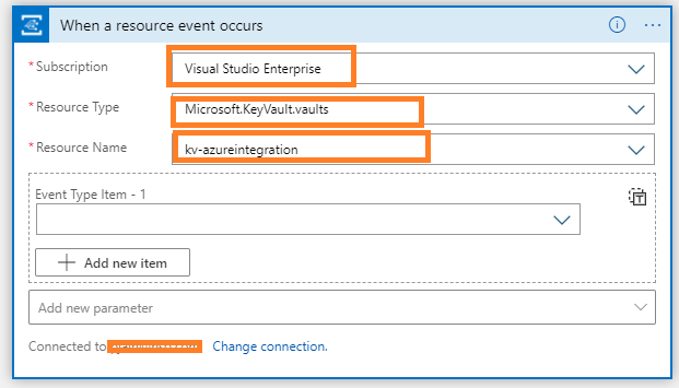 Azure Integration azure keyvault monitoring alerting Logic App Trigger